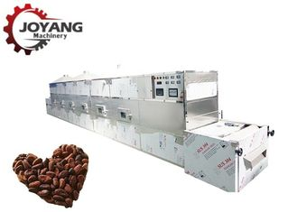 Easy Use Industrial Microwave Oven Cocoa Beans Hazelnut Drying Roasting Machine
